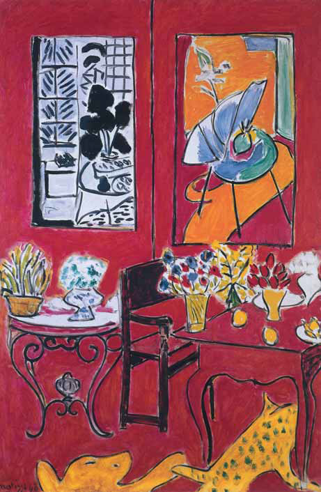 Henri MATISSE. Grand Red Interior. 1948