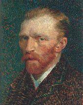 Vincent VAN GOGH. Self-portrait. 1887