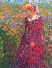 Emil NOLDE. A Young Woman. 1907