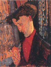 Amedeo MODIGLIANI. Portrait of Frank Burty Haviland. 1914