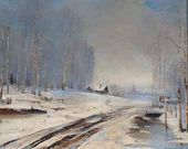 Alexei SAVRASOV. Bad Roads. 1894