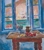 Pyotr KONCHALOVSKY. Window. Balaklava. 1929