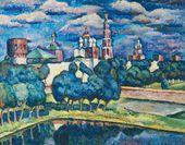 Novodevichy Convent. 1912–1913