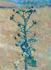 Thistle in Steppe. 1933