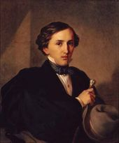 Portrait of Architect Alexander Stepanovich Kaminsky. 1850
