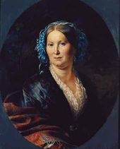 Portrait of an Unknown Woman. 1852