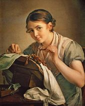 The Lace–Maker. 1823