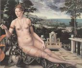 Jan MASSYS. Venus Cythereia. 1561