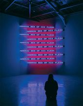 Jenny HOLZER. Purple Cross.2004
