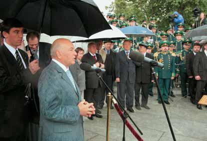 Mayor of Moscow  Yury Luzhkov