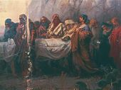 Nikolai KOSHELEV. Burial of Jesus Christ. 1881