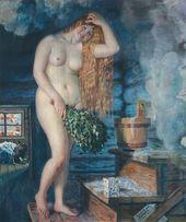Boris KUSTODIEV. Russian Venus. 1925–1926