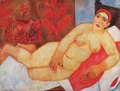 Mikhail LARIONOV. 'Russian' Venus. 1912