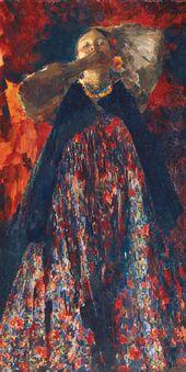 Philipp MALYAVIN. A Peasant Girl. 1903