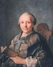 Ivan ARGUNOV. Portrait of Khripunova. 1757