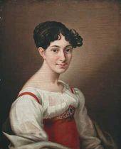 Nikolai ARGUNOV. Portrait of Elizaveta Bantysh-Kamenskaya. 1815
