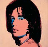 Mick Jagger. 1975. ©AWF