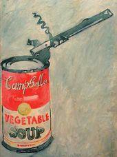 Avdei TER-OGANIAN. Andy Warhol. Campbells soup. 1990