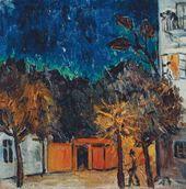Mikhail LARIONOV. Night. Tiraspol. 1907
