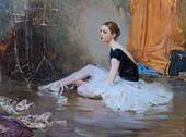 Second Prize. Mikhail ALDOSHIN. Ballerina Vika Osipova