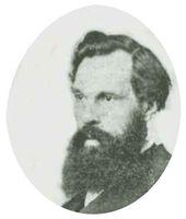 Alexei Savrasov. Photo portrait, 1860s