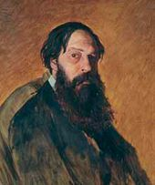 Vasily PEROV. Portrait of Alexei Savrasov. 1878
