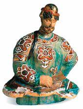 "Mikhail VRUBEL. Sadko, Playing the ""Gusli"" (Psaltery)"
