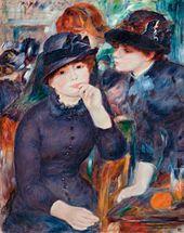 Auguste RENOIR. Girls in Black. 1880–1882
