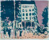 Pierre BONNARD. Les Boulevards. 1900
