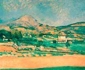 Paul CEZANNE. Plain at Mont Sainte Victoire. 1882–1885