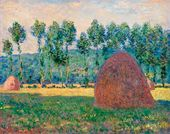 Claude MONET. Haystack near Giverny. 1884–1889