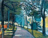 Henri MATISSE. Le Bois de Boulogne. 1902