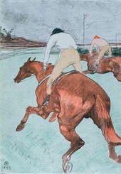 Henri TOULOUSE-LAUTREC. The Jockey. 1899