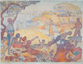 Paul SIGNAC. In the Time of Harmony. 1895–1896