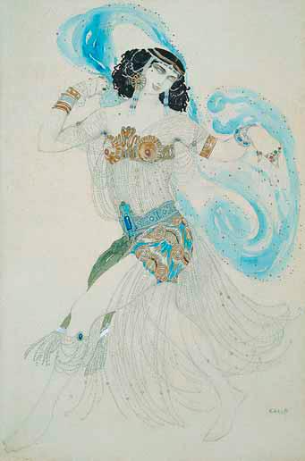 Leo BAKST. Salome. 1908