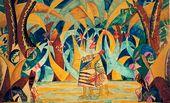 Mikhail LARIONOV. The Forest. 1916