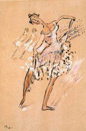 Mikhail LARIONOV. Ballerina. Late 1920s-early 1930s