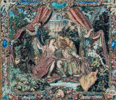Alexander BENOIS. Tapestry. 1907