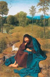 Gerard de SAINT-JEAN. St. John the Baptist in the Desert. C. 1480–85