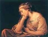 Louis LAGRENEE. Melancholy. C. 1785