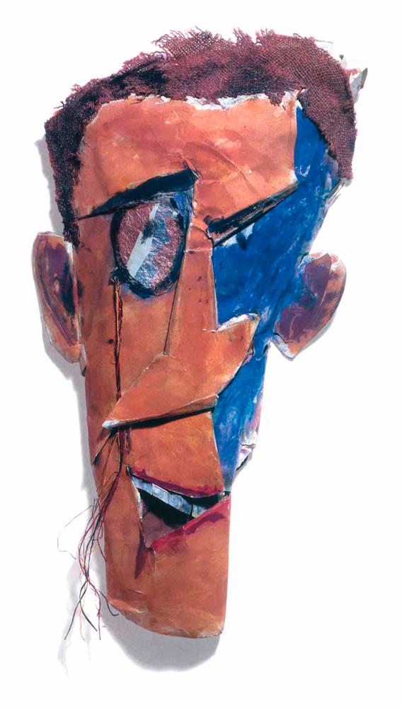 Marcel JANCO. Portrait of Tristan Tzara. 1919