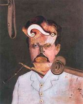 George GROSZ. Victim of the Society. Remember Uncle August, the Unhappy Inventor. 1919