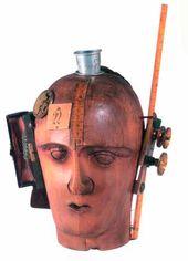 Raoul HAUSMANN. The Spirit of our Time (Mechanical Head). 1919