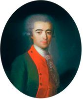 Fedor ROKOTOV. Portrait of an Unknown Man. 1787