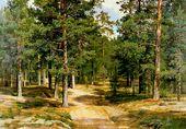 Ivan SHISHKIN. Sestroretsk Woods. 1896