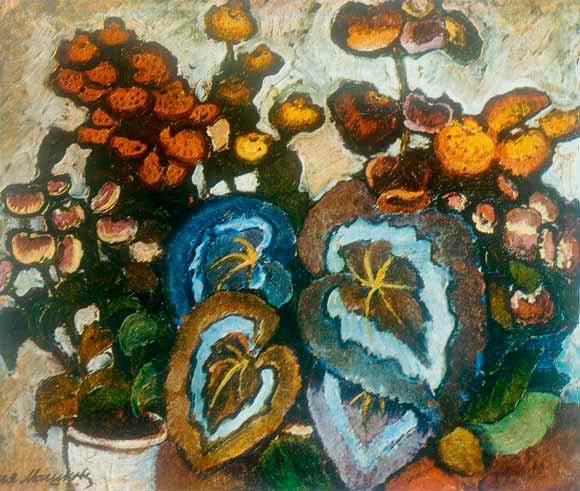 Ilya MASHKOV. Begonias. 1907