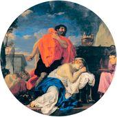 Charles LEBRUN. Jephthah's Sacrifice. c. 1656