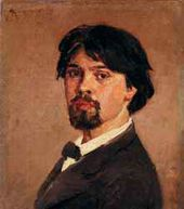 Vasily Surikov. Self-portrait. 1879