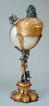 Goblet – Nautilus. Nuremberg, 1632–1643