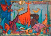 Marcel JANCO. Hurmuz. Imaginary Animals. 1975